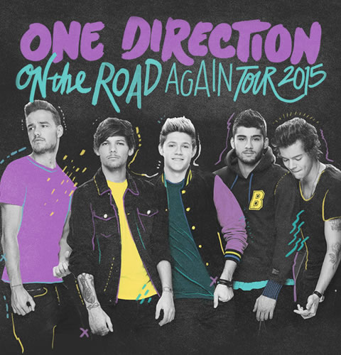 One Direction Tickets 2015
